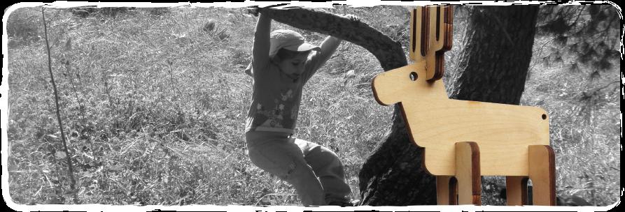 Wood creativ Deer