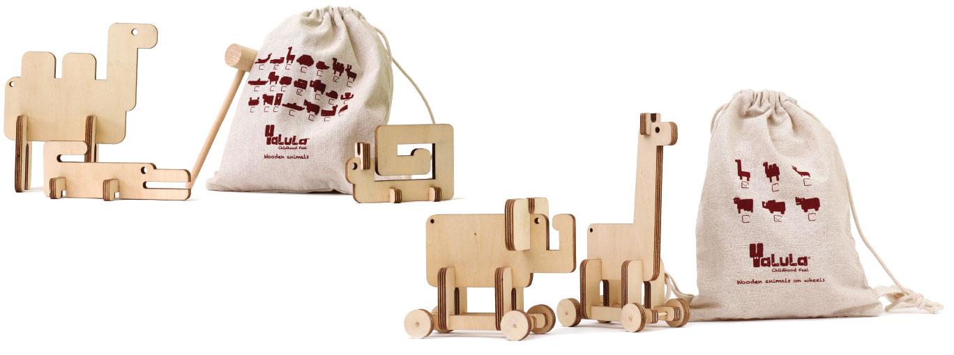 Wood creativ wooden animales